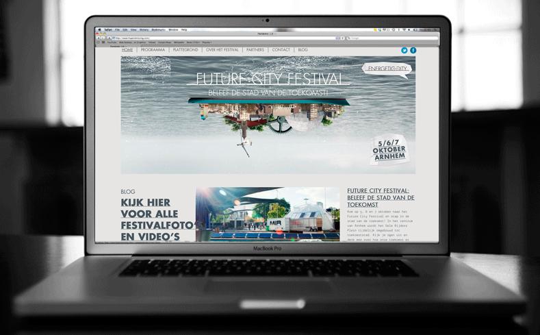 De Future City Festival website
