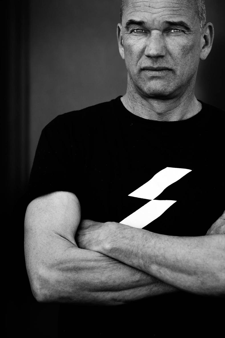 Thomas Koenen in shirt van Sublime (foto: Jan Bijl)