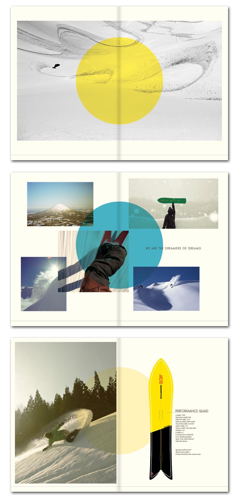 Moss Snowstick collectieboek, concept & ontwerp door Re-act