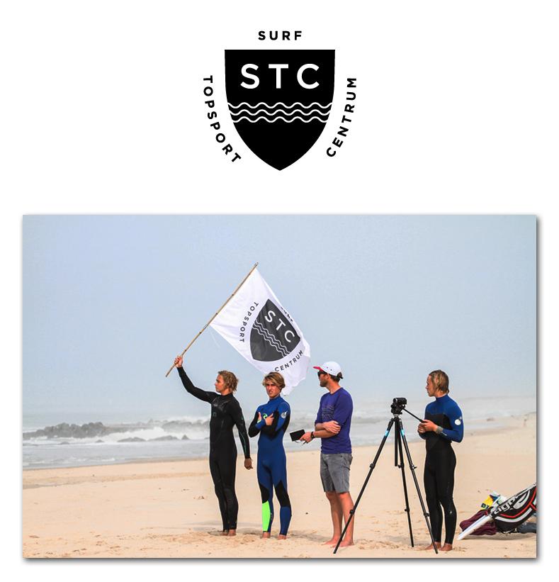 Logo Surf Topsport Centrum (STC) door Re-act